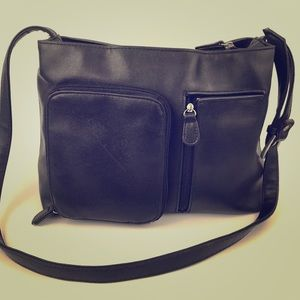 Retro 90s Crossbody Shoulder Bag Zipper Strap